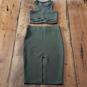 UK2LA 2 Peice Dress